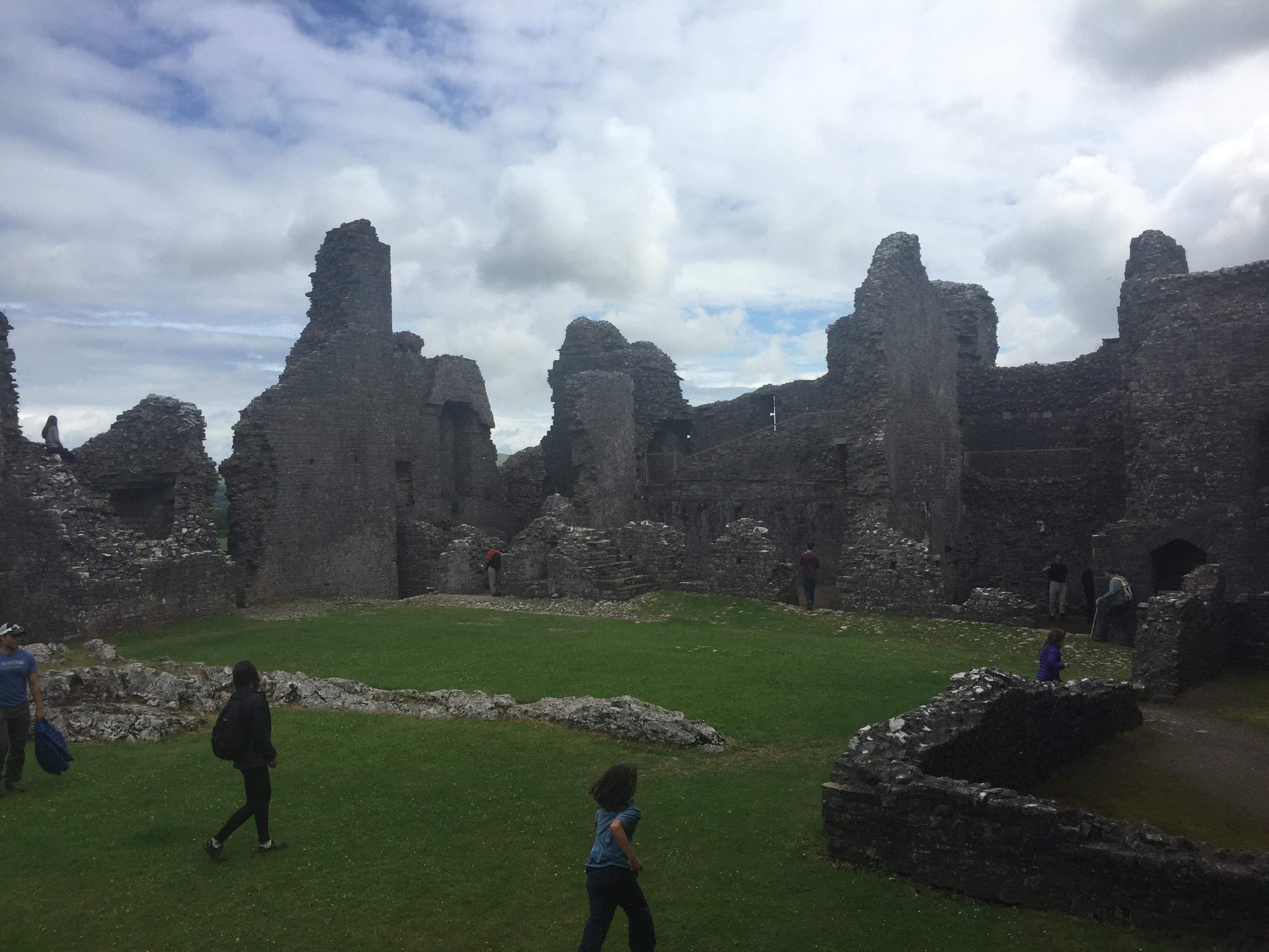 nomadswithapurpose, traveling with kids, european travel, best castles in europe, castles in europe, carreg cennen castle, welsh castles, best castles in uk