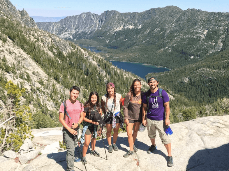 View of Upper Snow lake, Hiking the Enchantments on our US & Canada Road Trip