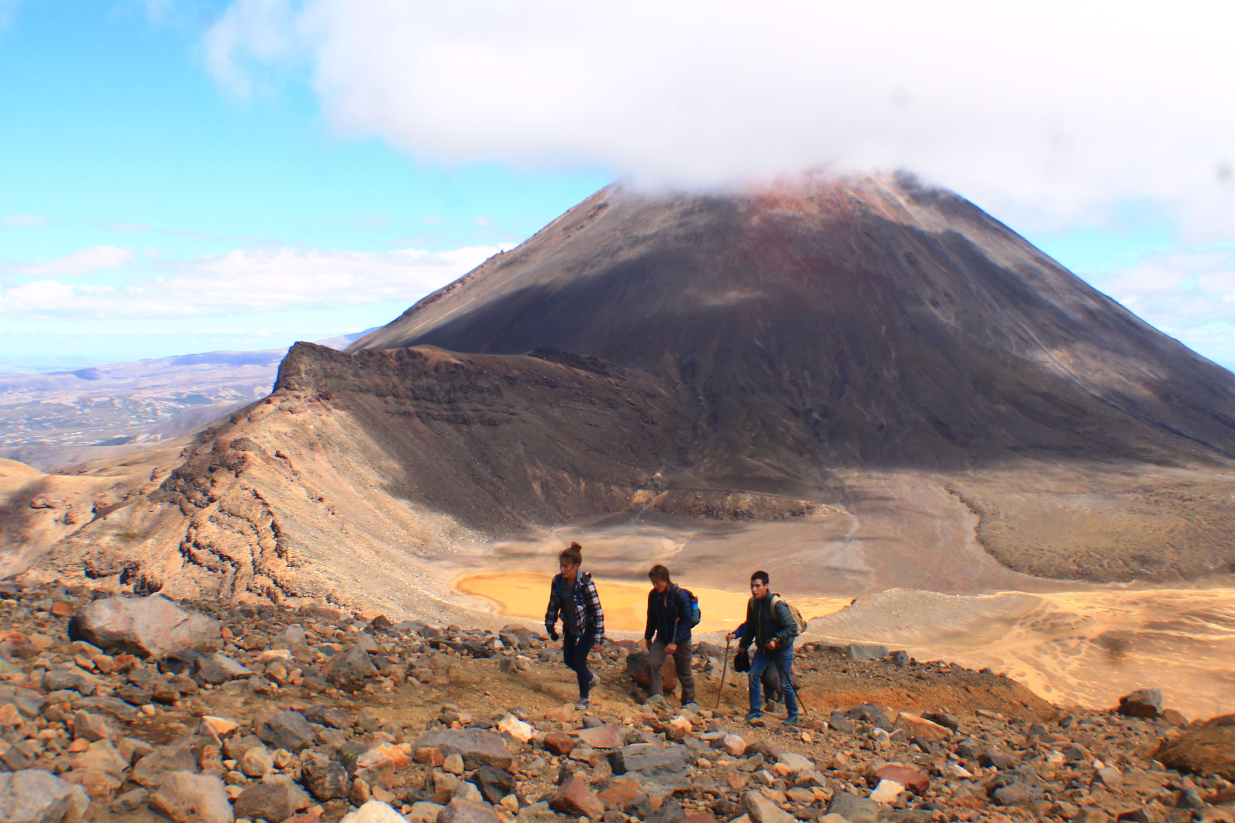 Hiking Tongariro, 3 week New Zealand Itinerary