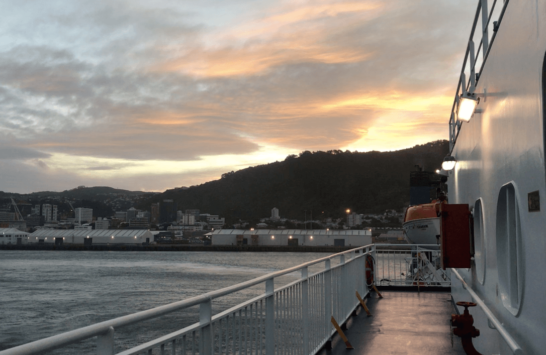 Wellington Ferry, 3 week New Zealand Itinerary