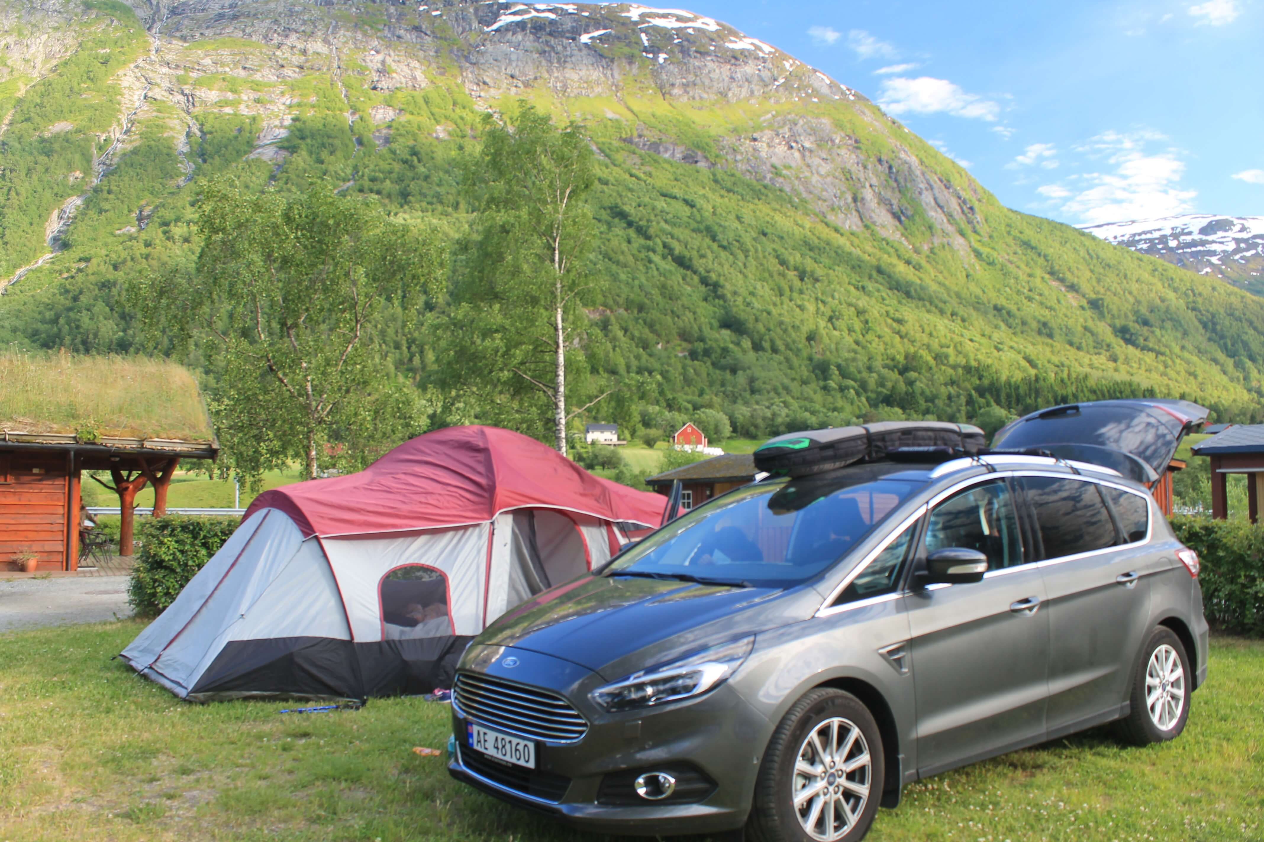 best campground in central Norway