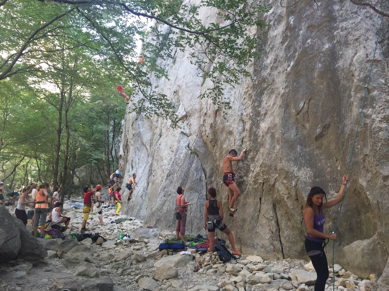 Best sport climbing in Europe- Croatia