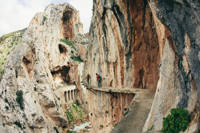 El Chorro, Adventurous Warm Weather Winter Destinations for When You're Sick of the Snow