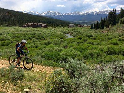Horseshoe Gulch, Best Mountain Biking in Breckenridge