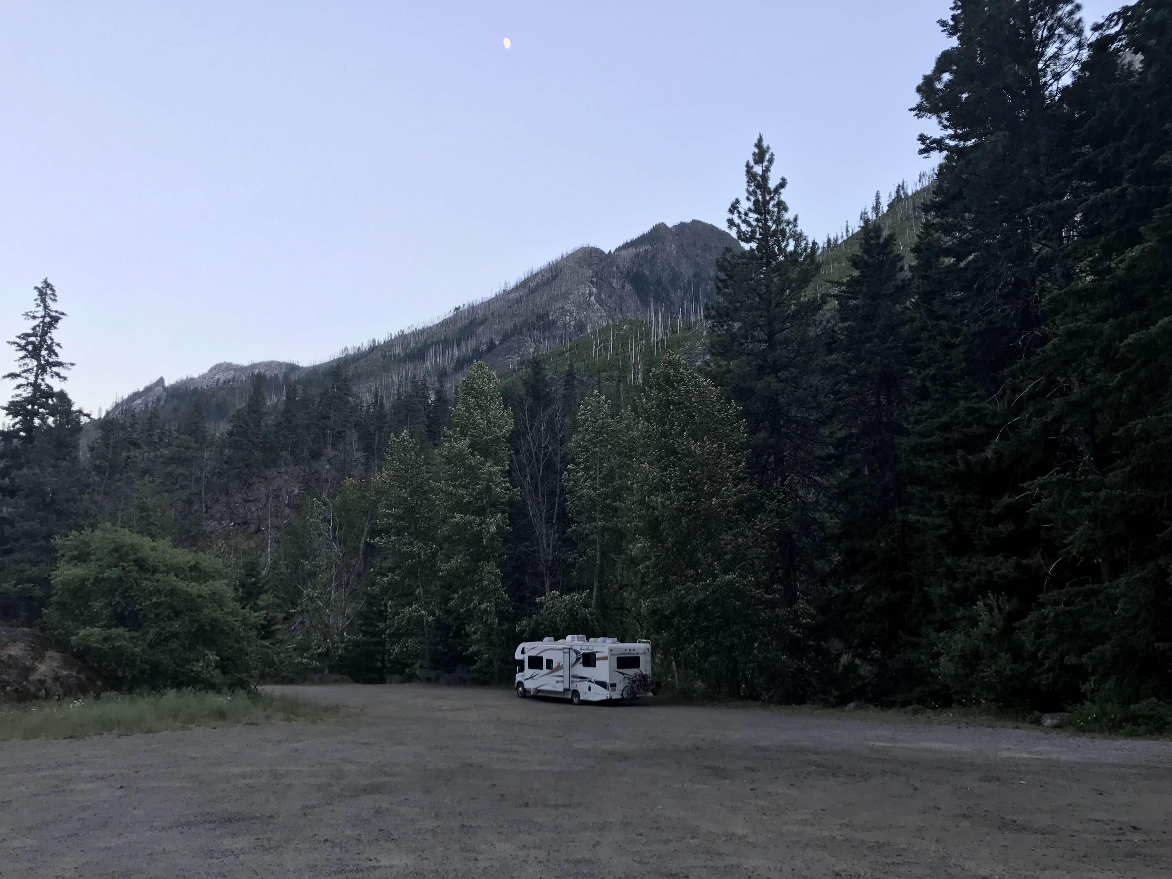 best campground in Washington Leavenworth