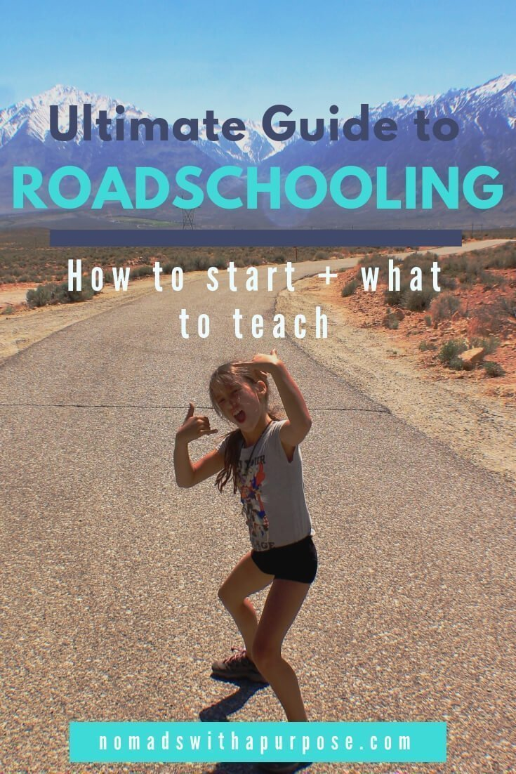 Guide to roadschooling: how to start and what to teach