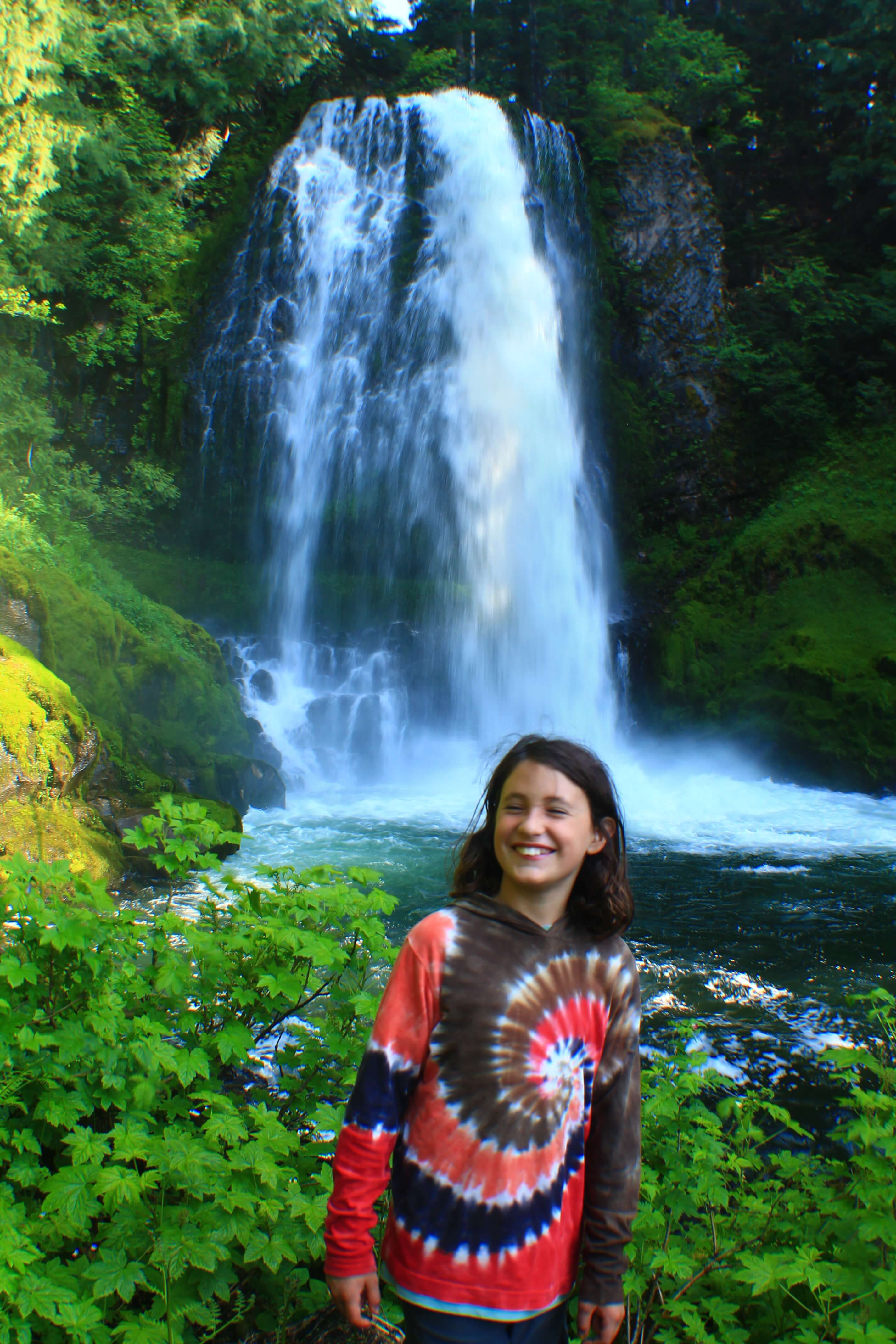 Marion falls, best hikes in the PNW