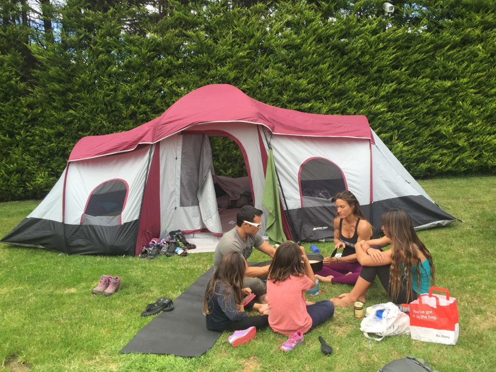 tent camping in Ireland