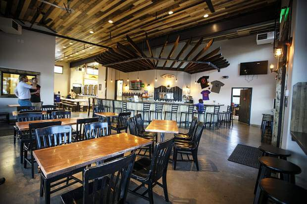Open air ambiance at Angry James, Things to Do in Silverthorne
