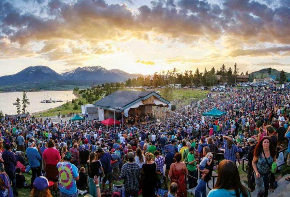 The amazing ambiance of Lake Dillon Amphitheater