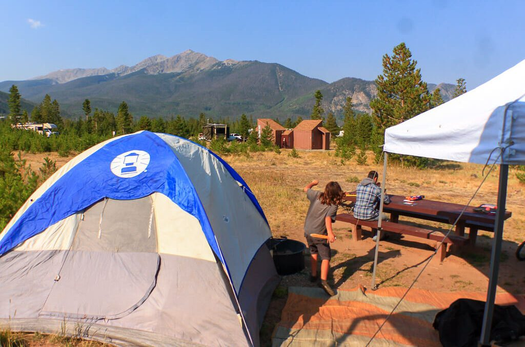 Peak 1 campground, Things to Do Silverthorne